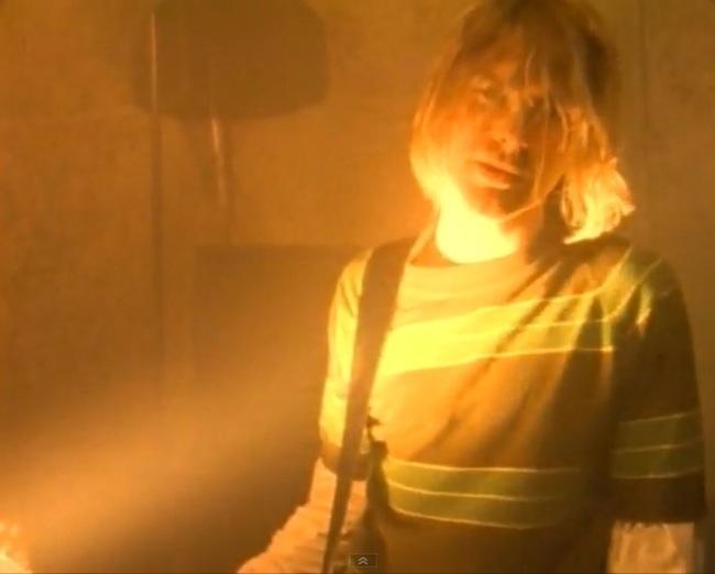 Nirvana smells like teen sperit