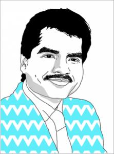 An illustration of Carl Ballenas