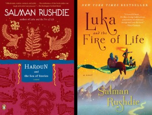 Rushdie's books for his children