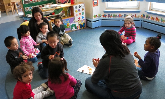A classroom at Ossining Children's Center.
