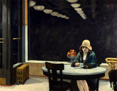 Automat, Edward Hopper, 1927.