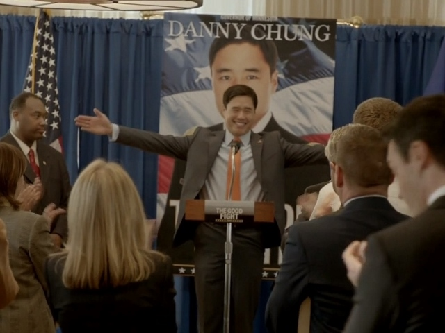 Park as Minnesota Governor Danny Chung on the HBO series Veep