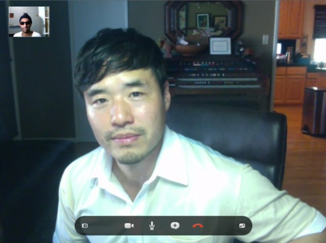 Randall Park on Skype