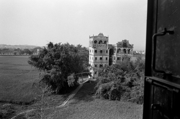 Fortified towers in Kaiping built in the early 20th century by returned overseas Chinese. 2009.
