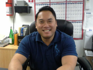 Erwin Santos now manages Jersey City's Phil Am Food Market, which his parents opened in 1971.