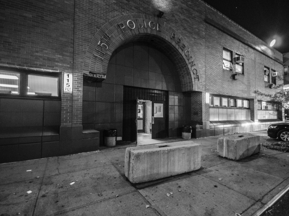 The 115th Precinct on Northern Boulevard where monthly community council meetings are held every third Tuesday of the month. Photo by Thomas L. Mariadason.