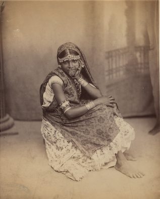 An indentured woman in Trinidad, c 1890, Harvard, Houghton Library