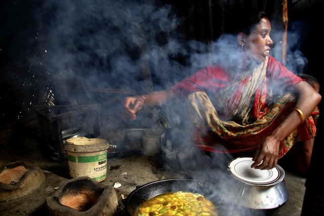 Life Born in a Slum by Saikat Mojumder