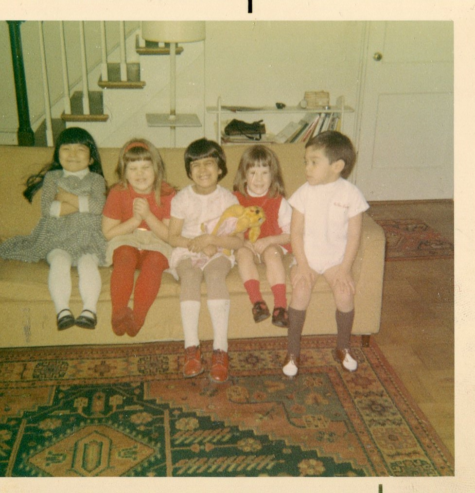 5th Birthday—Akiko, Tracy, Marina, Merry & Carlos.