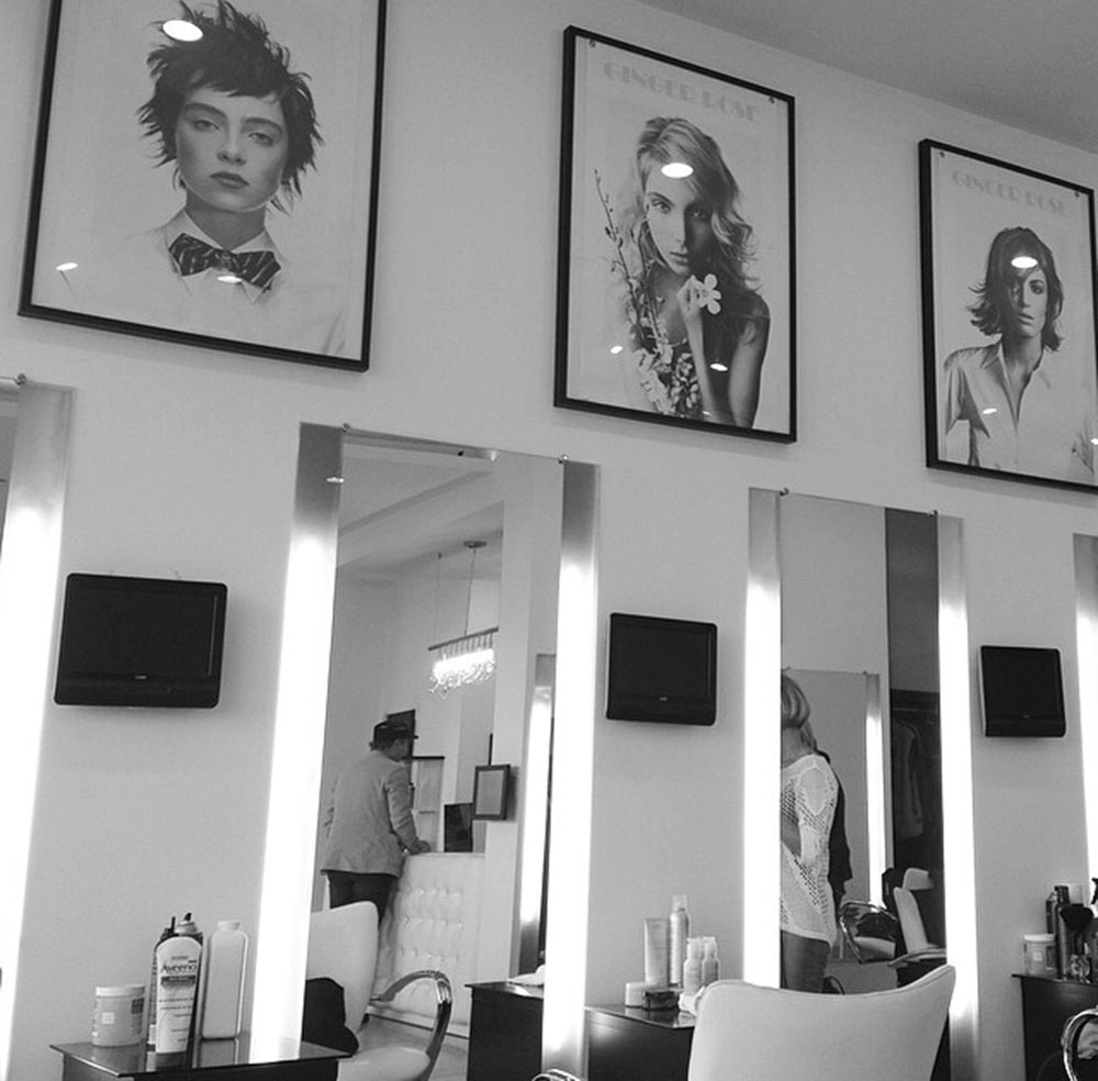 Caption: Inside Ginger Rose Salon. Credit: Marwa H. Helal.