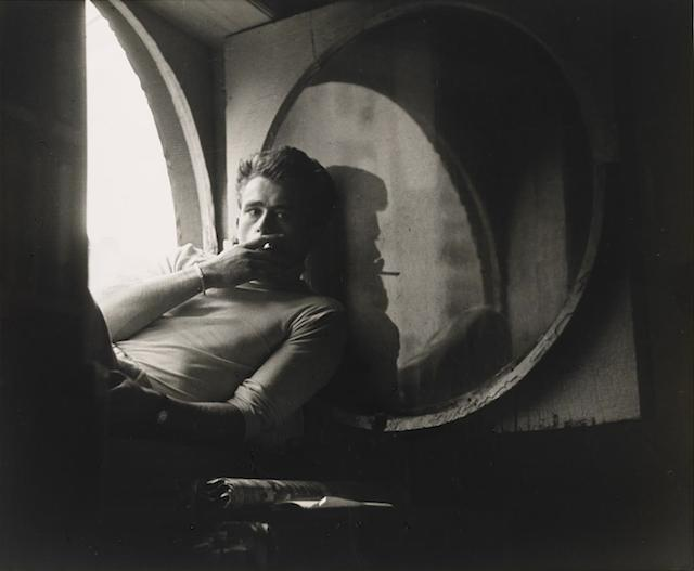 James Dean. Photo by