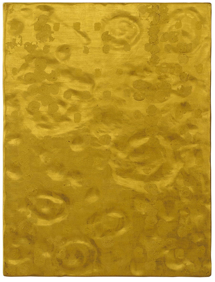 Yves Klein. Silence is Golden (1960) [credit line - © Yves Klein, ADAGP, Paris]
