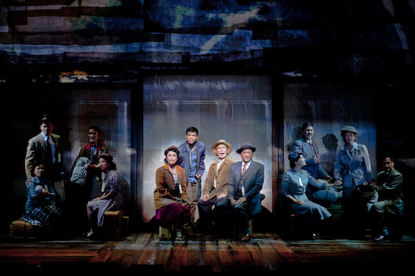 From Allegiance at The Old Globe. Photo by Henry DiRocco.