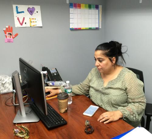 Pert Hora in her Richmond Hill office.