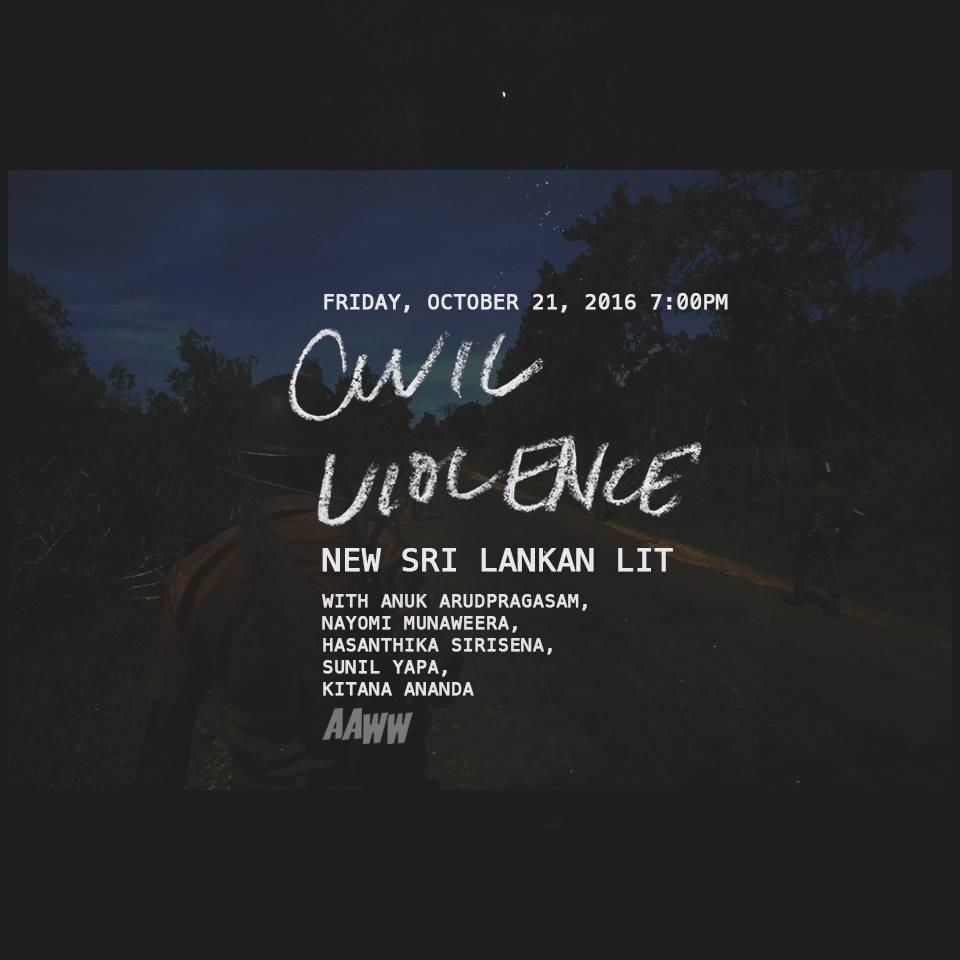 Civil Violence: New Sri Lankan Lit