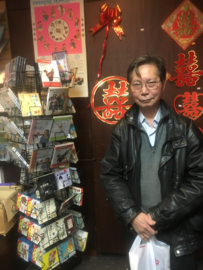 Mr. Zheng has been coming to the bookstore every weekend since it opened in 1986.