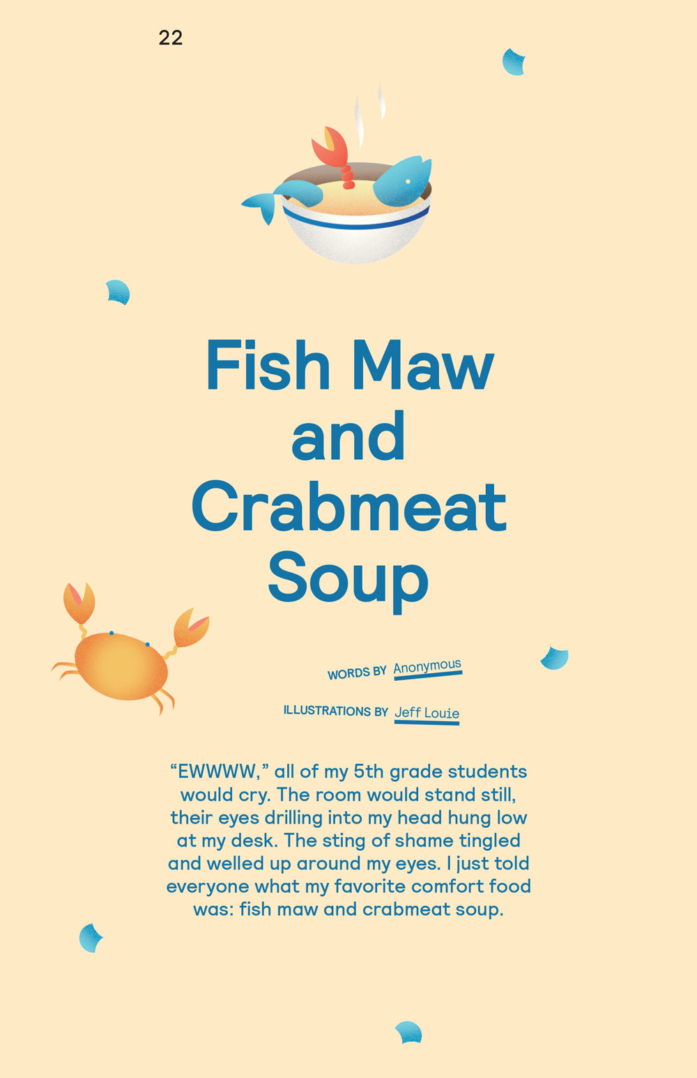 Fish Maw and Crabmeat Soup by Anonymous (p. 1) - AMPLIFY(HER)
