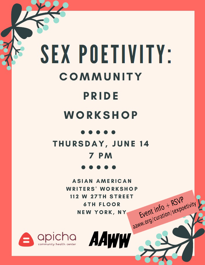 Sexpoetivity: Community PRIDE Workshop
