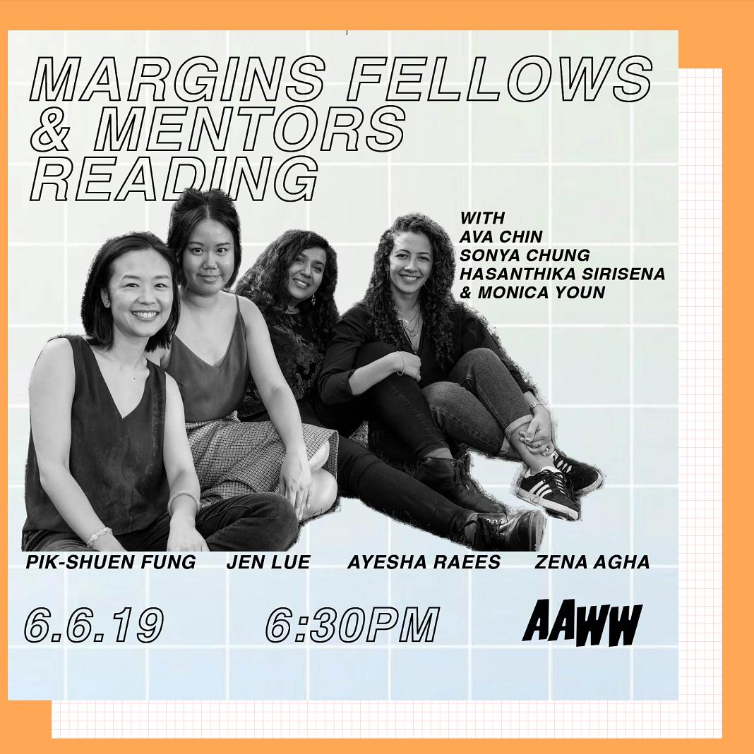 Margins Fellows & Mentors Reading