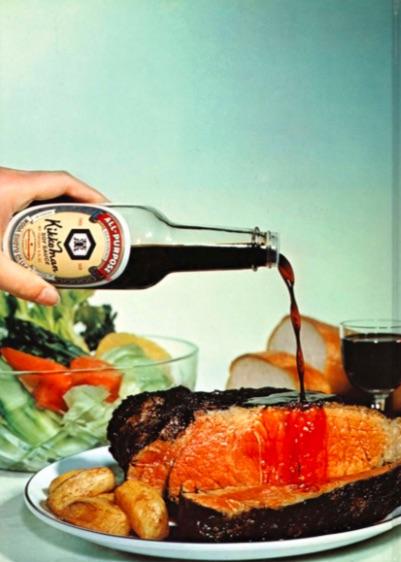 Photograph from a 1973 Kikkoman cookbook (Shurtleff and Aoyagi, p. 214)