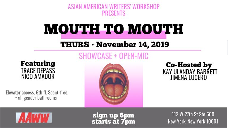 Mouth to Mouth: Open Mic