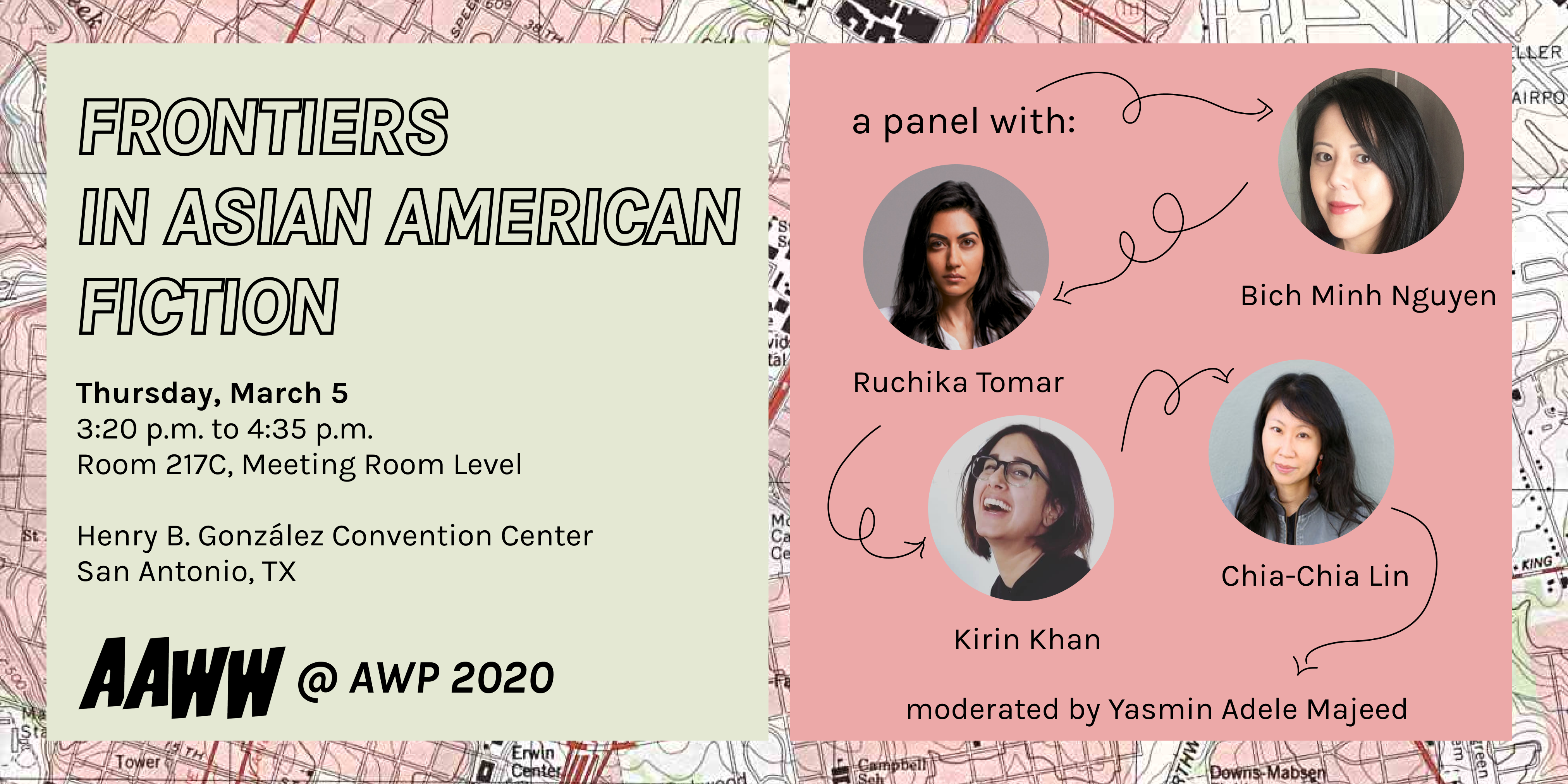 AAWW at AWP: Frontiers in Asian American Fiction