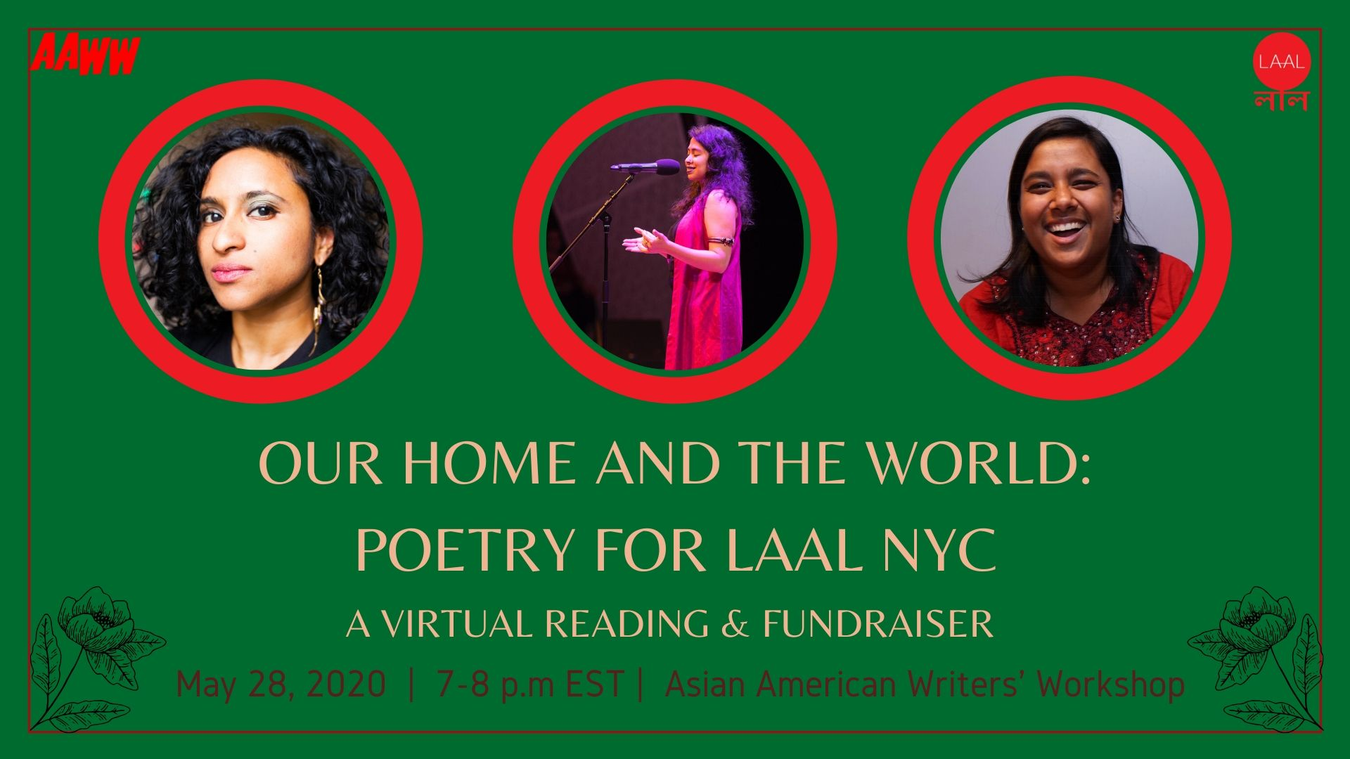 Our Home and the World: Poetry for Laal NYC