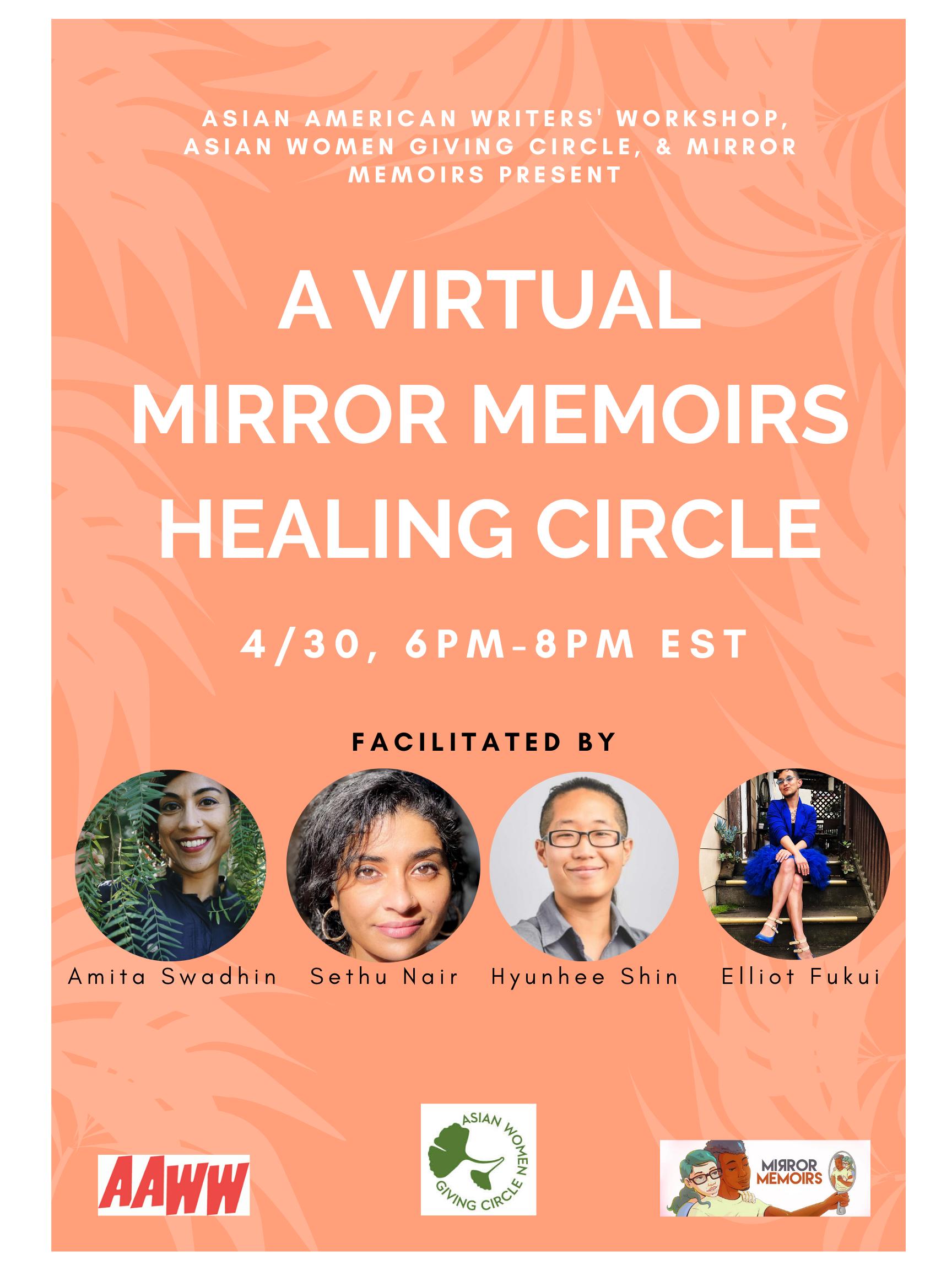 Virtual Healing Circle: Mirror Memoirs