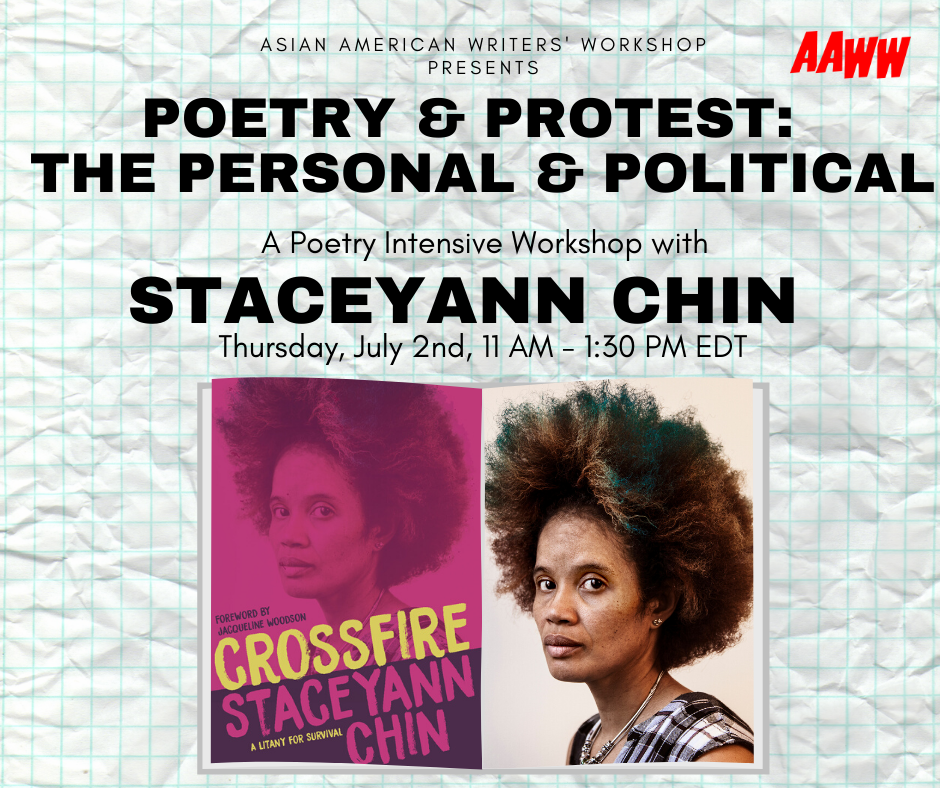 Virtual Intensive Poetry Workshop: Poetry & Protest, the Political & Personal