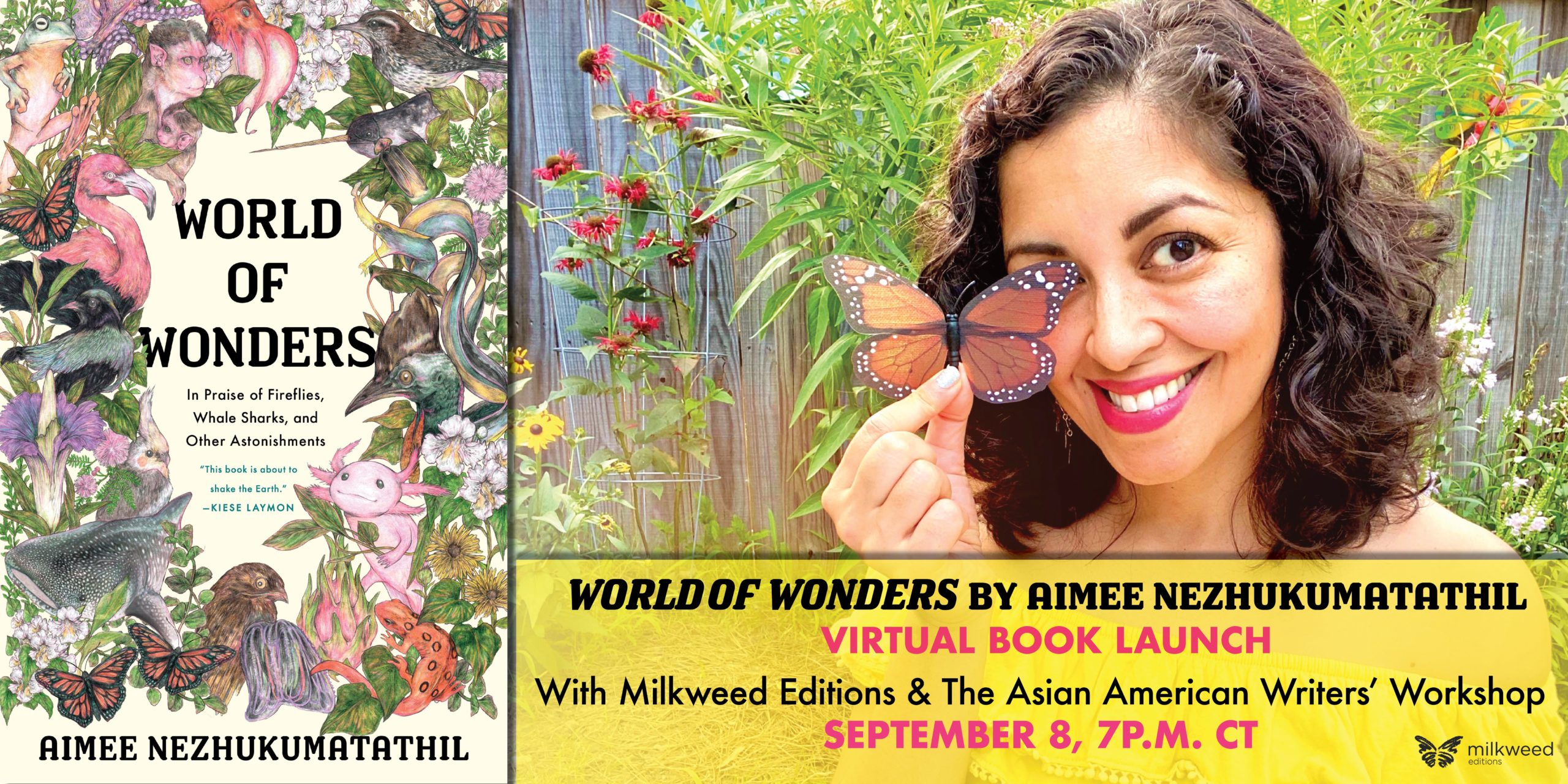 Book Launch: World of Wonders by Aimee Nezhukumatathil
