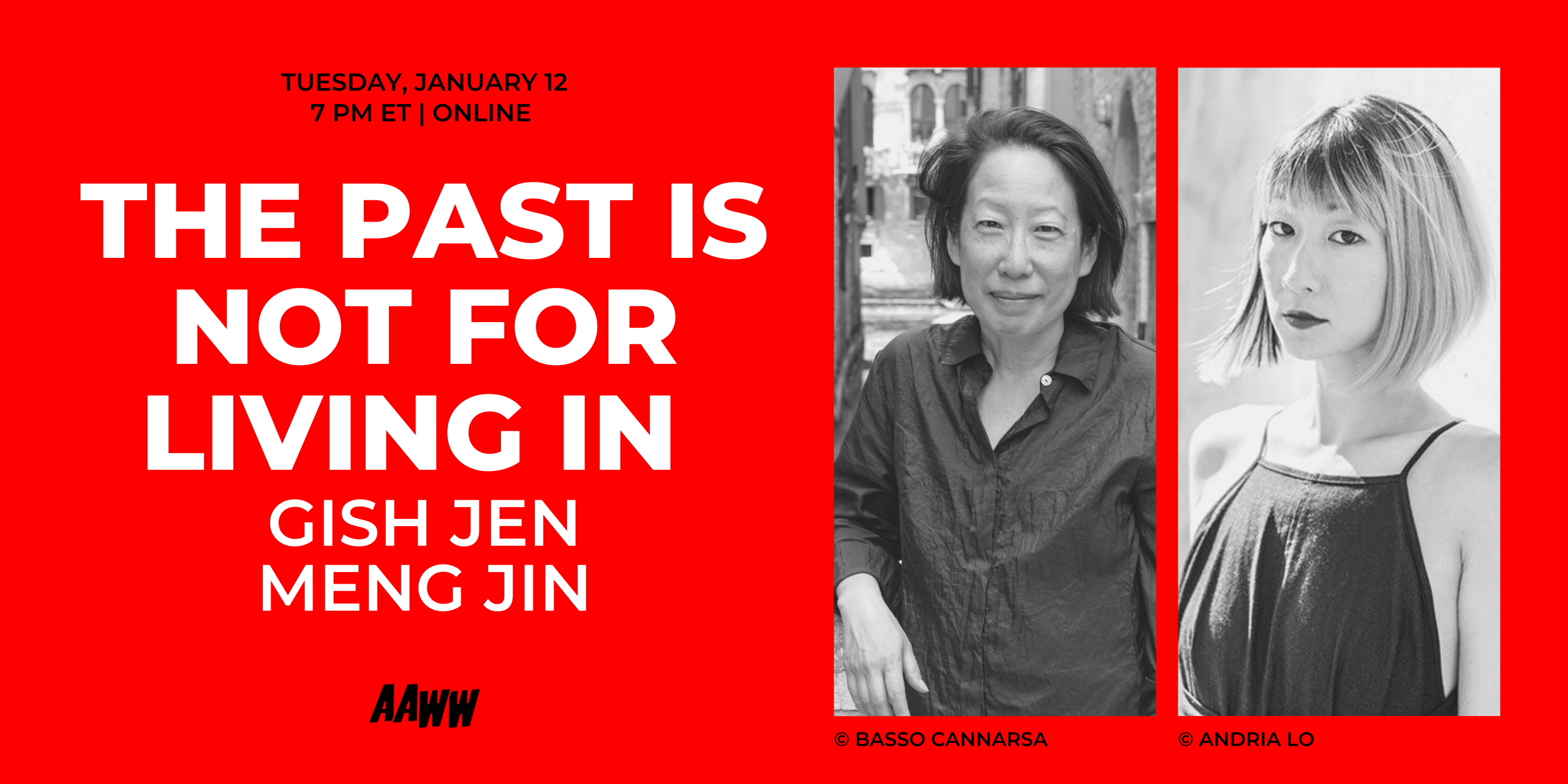 The Past is Not for Living In: Gish Jen and Meng Jin