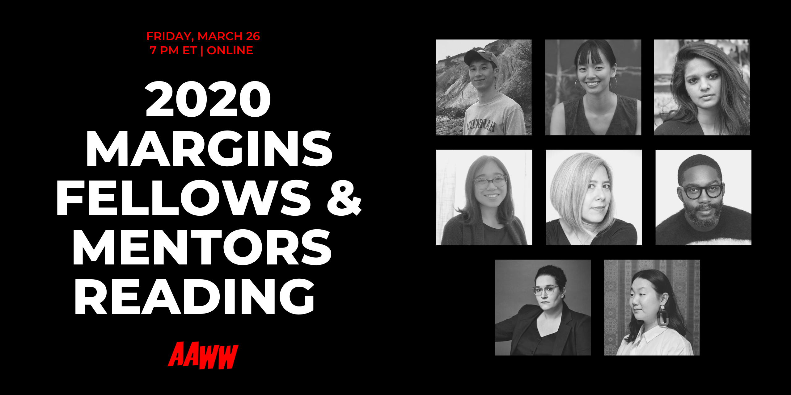 2020 Margins Fellows and Mentors Reading