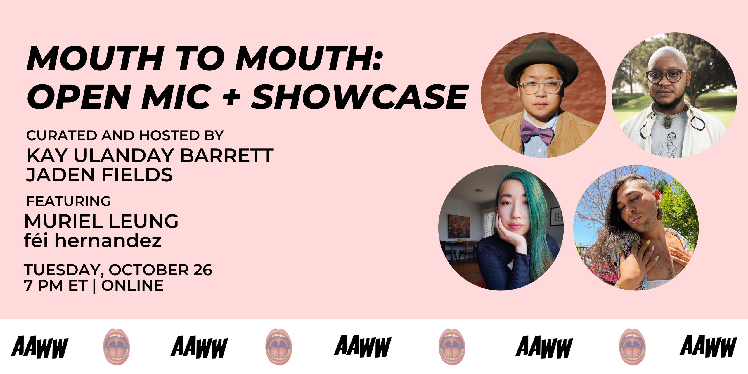Mouth to Mouth: Open Mic and Showcase