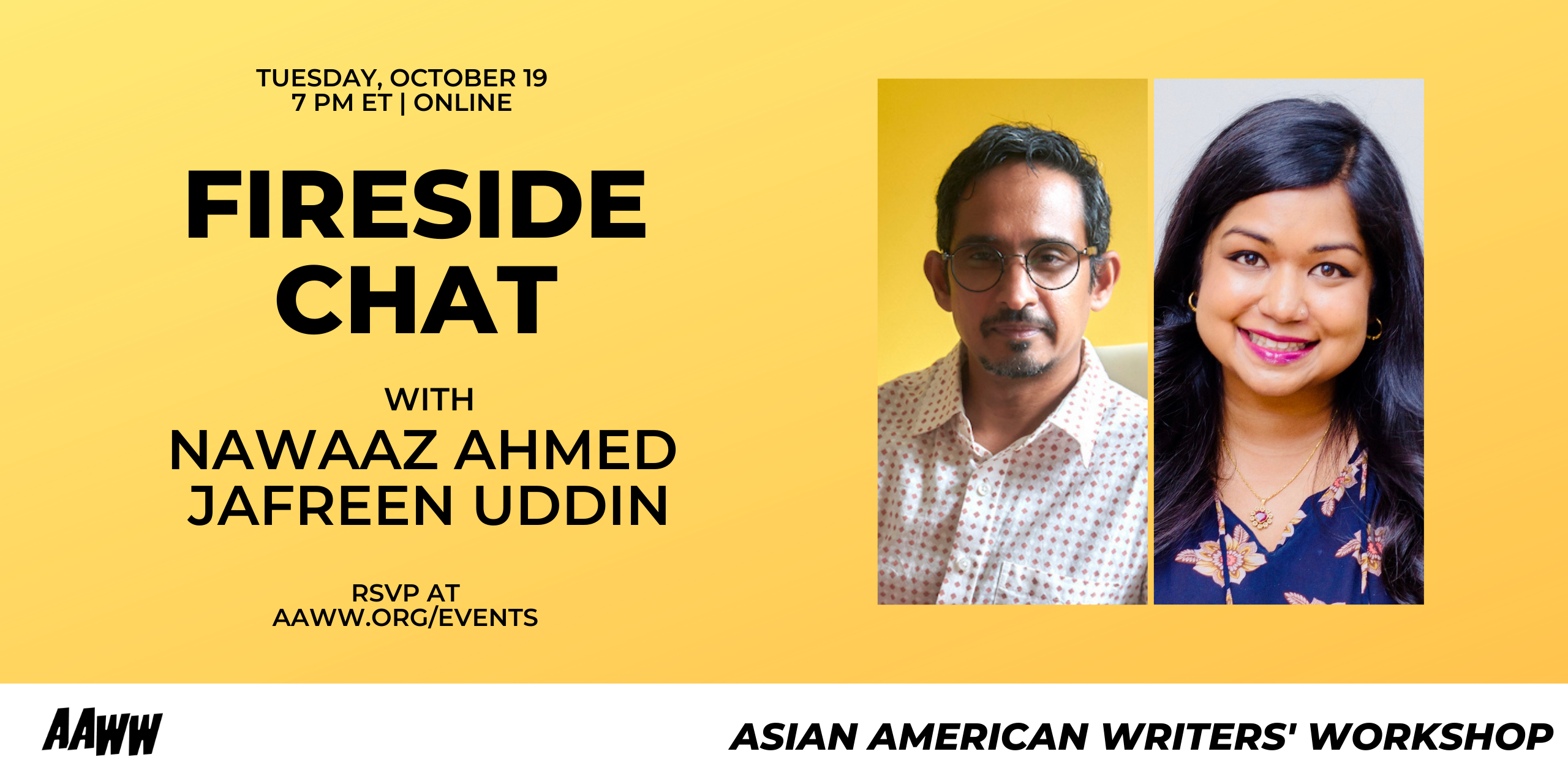 Fireside Chat: Nawaaz Ahmed and Jafreen Uddin